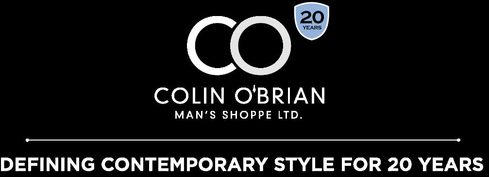 Colin O'Brian Man's Shoppe Ltd Logo